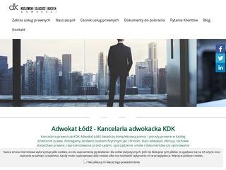 Rozwód, spadek, odszkodowania - Adwokat Łódź KDK